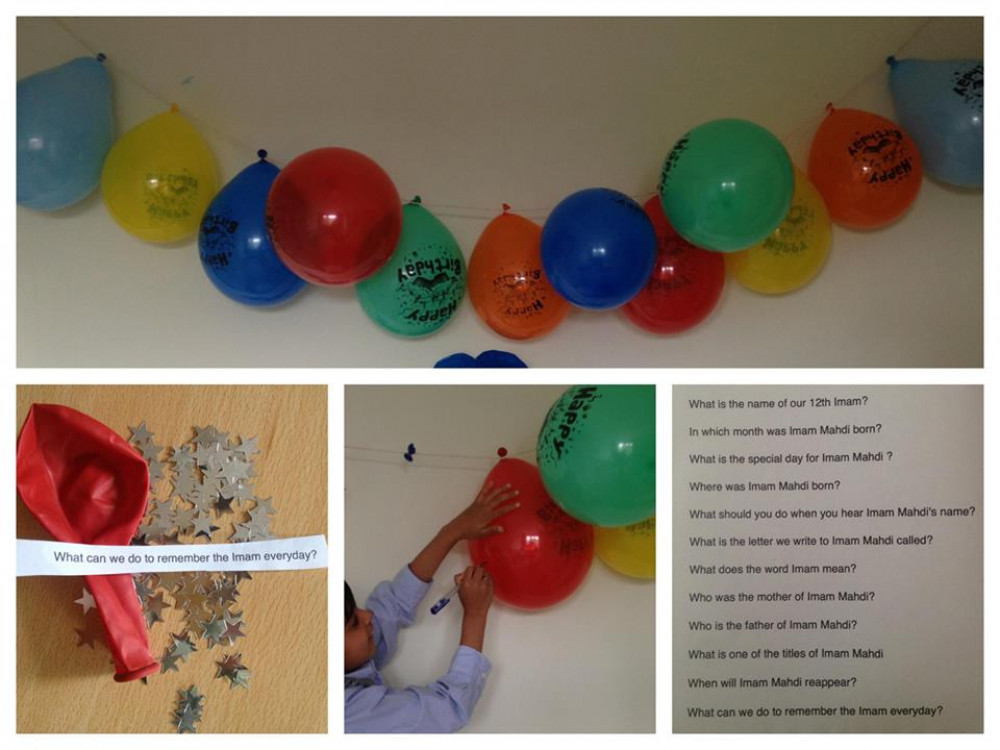 PART 2 - Play this balloon quiz with them!
