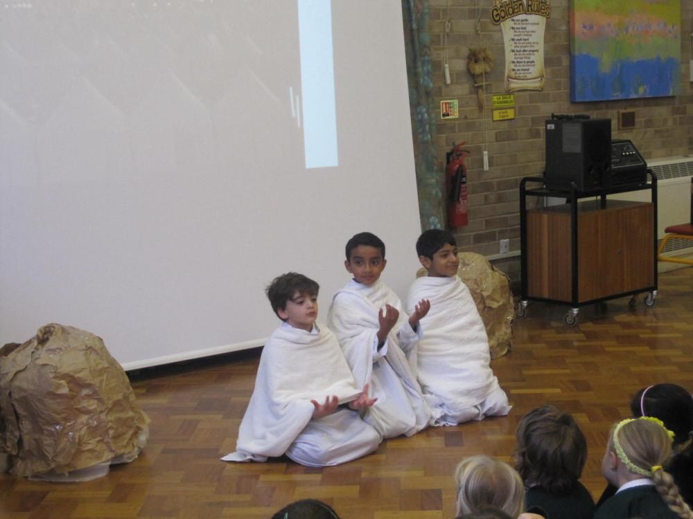 Hajj Play (KS2) at School
