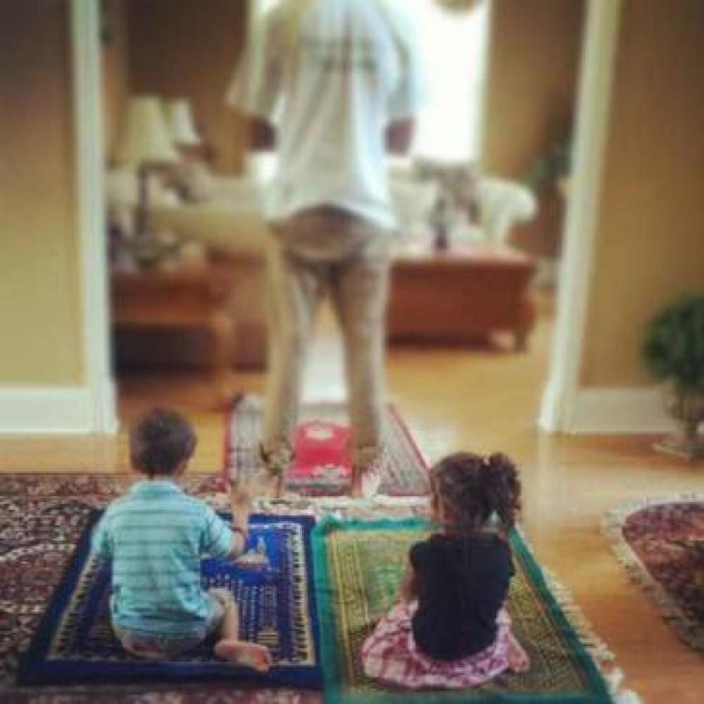 Salaah Idea 6: Make Prayer Time, Parent Time