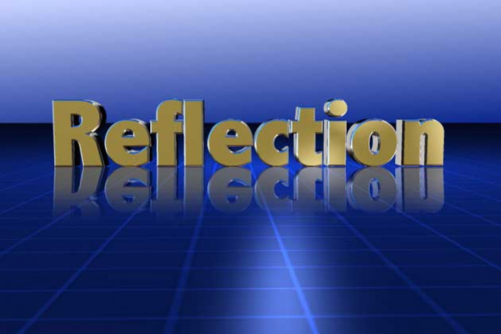 Day 1 - Monday: Take some time out to reflect