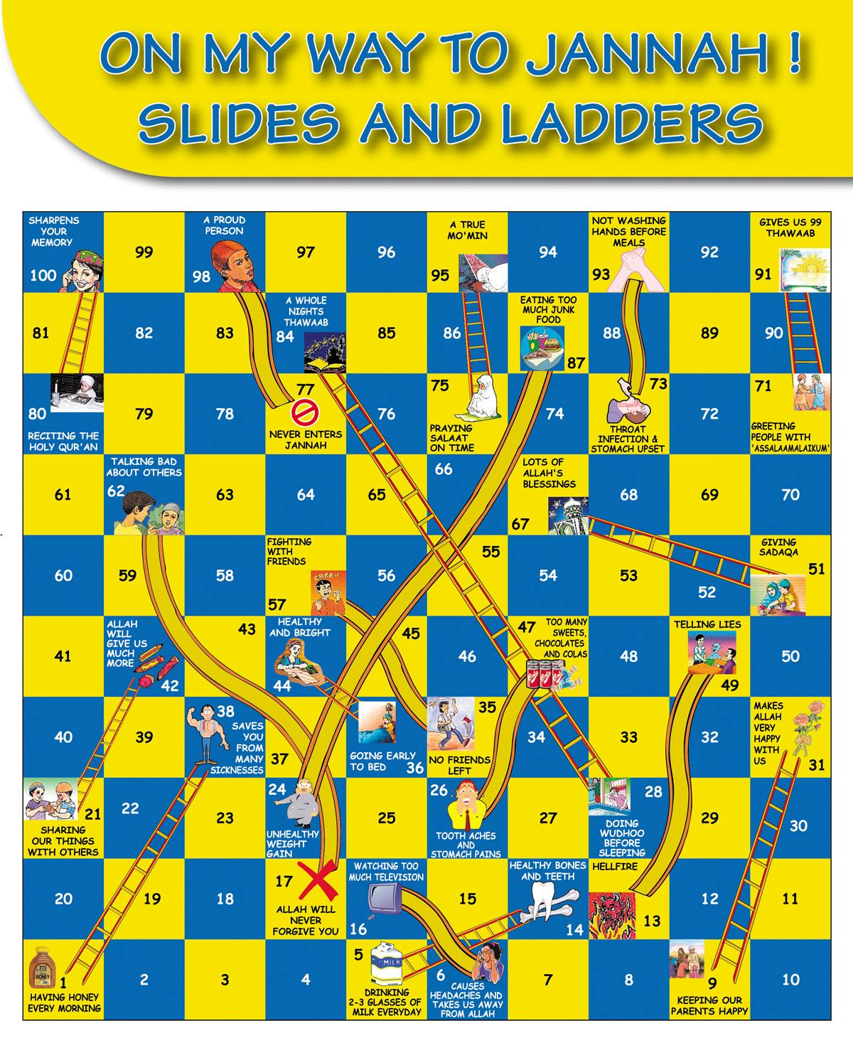 Slides and Ladders – On My Way To Jannah | Buzz Ideazz