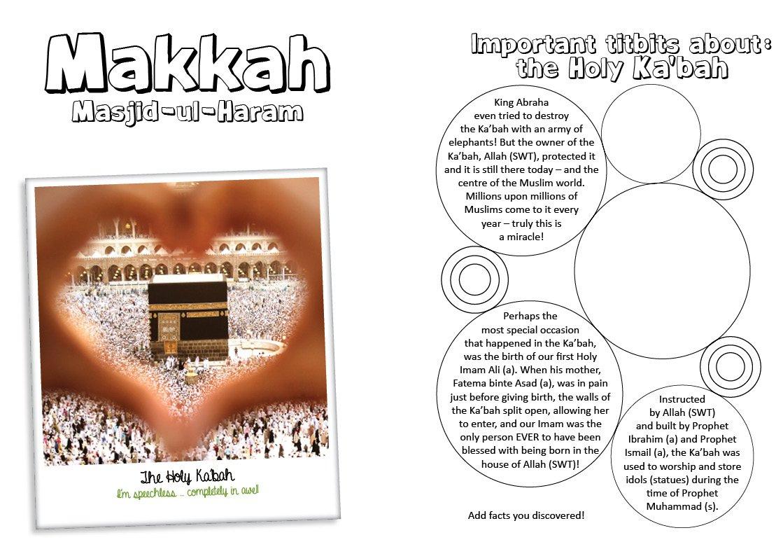 Umrah Journal for Children